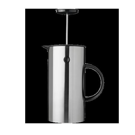 Cafetière à piston 'EM Press' en acier (D 14 x H 22 cm), Stelton, 124,95€