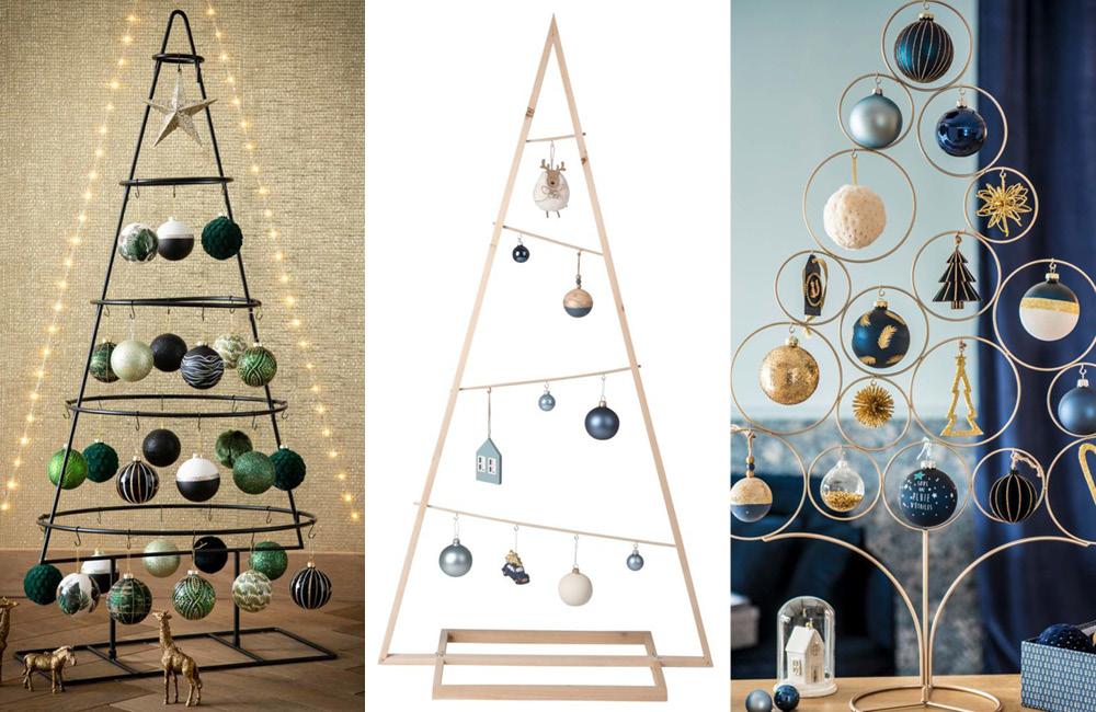 10 alternatives au sapin de Noël traditionnel
