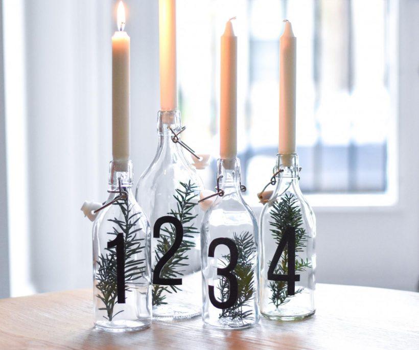 DIY : créez vos bougies de l'Avent