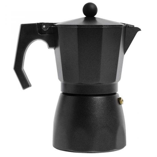 Cafetière en métal noir (D 9 x H 19 cm), Nordal, 31,90€