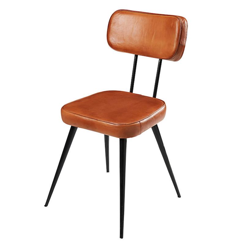 chaises de salle à manger metal
