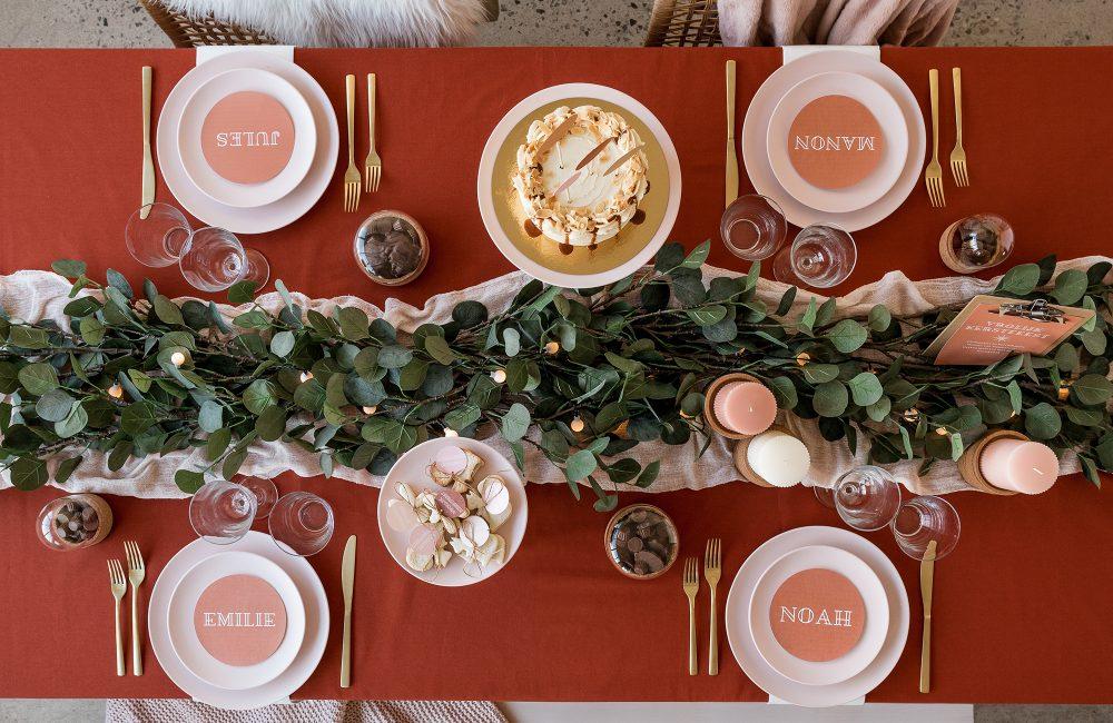 10 idées créatives pour un Noël terracotta