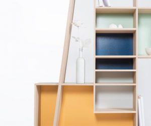 Etagères et bibliothèques pop : faites entrer la couleur !