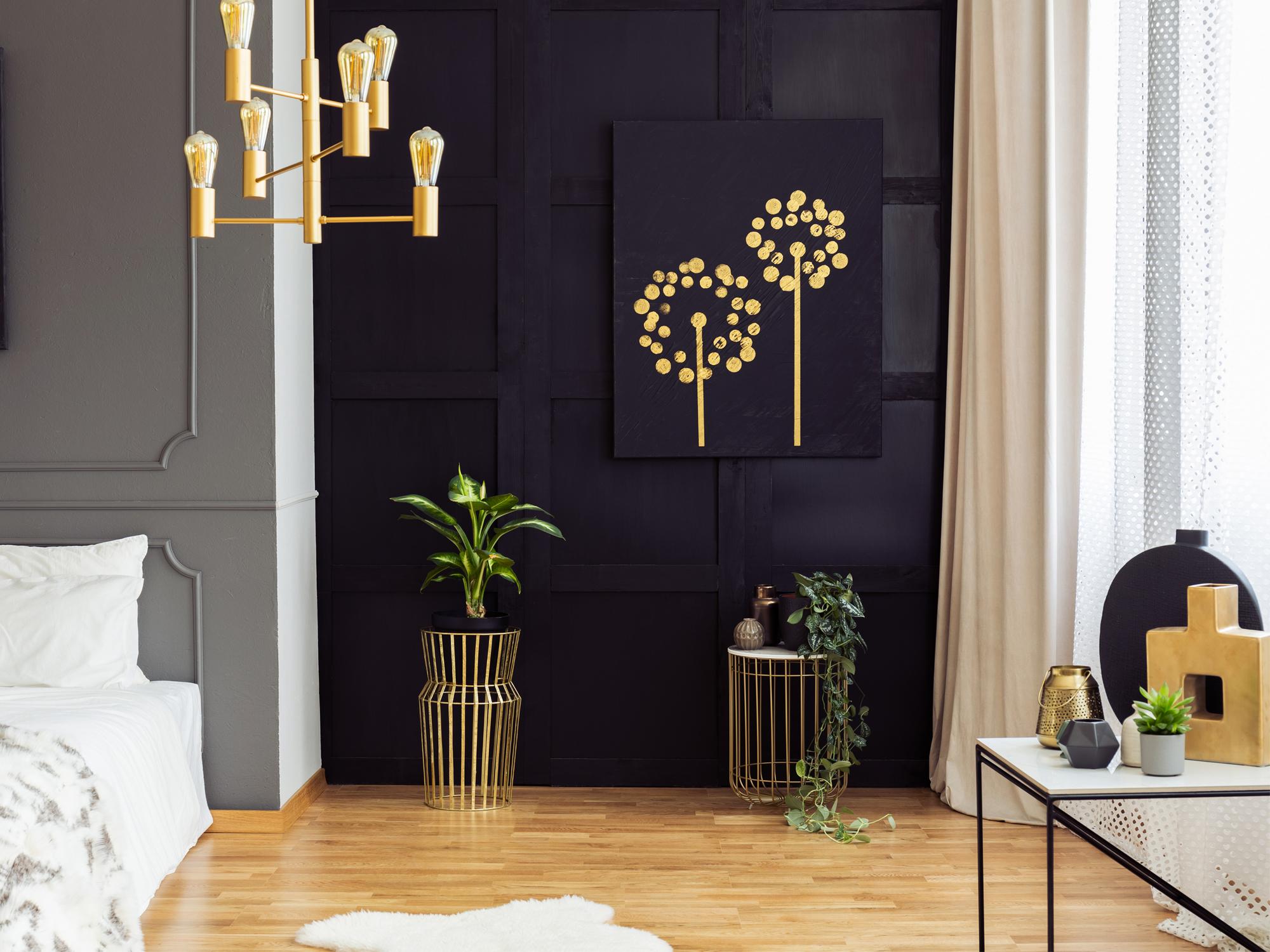 Déco dorée: nos indispensables pour un intérieur qui brille en 18