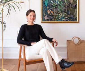 La décoratrice Charlotte Meyers nous invite chez elle