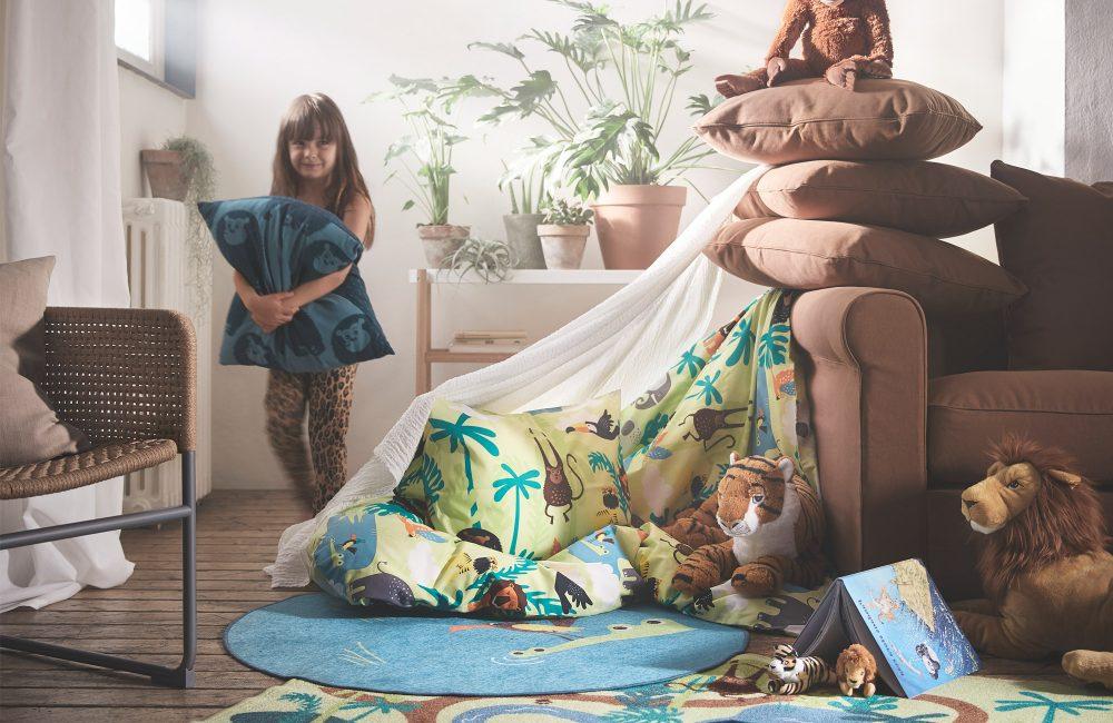 Des tapis de jeux pour une chambre d'enfants canon