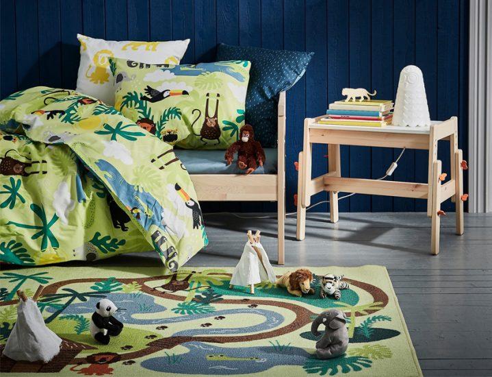 des tapis de jeux pour une chambre d 39 enfants canon d co. Black Bedroom Furniture Sets. Home Design Ideas