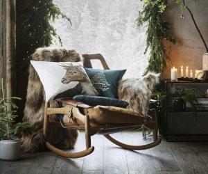 Velours, laine, fausse fourrure : shopping déco spécial grand froid