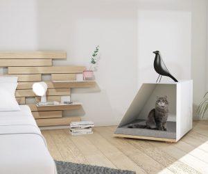 10 niches et paniers design pour chiens et chats