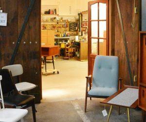XX vIntage : un atelier-boutique dédié au design rétro