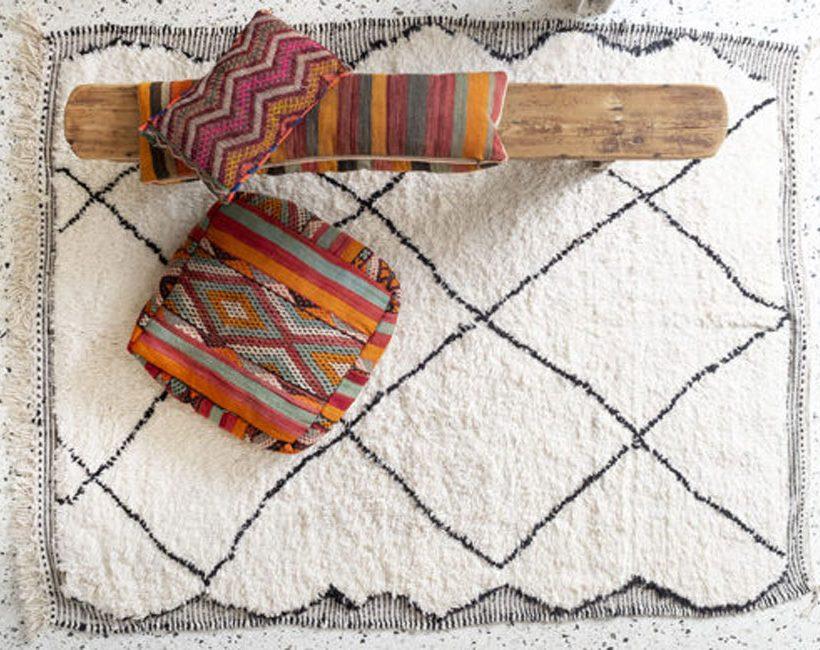 L'architecte d'intérieur Julie Hérion lance un eshop de tapis berbères