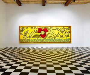 Keith Haring exposé à la galerie Zidoun-Bossuyt au Luxembourg