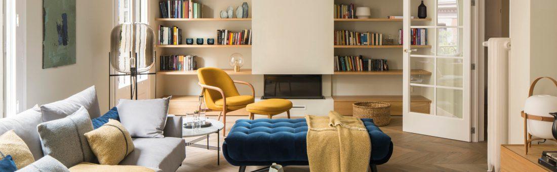 Visite arty d'une maison design à Barcelone