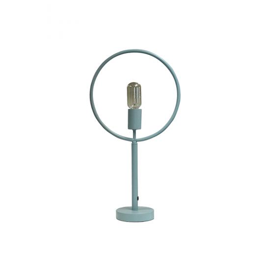 Lampe 'Auré' en métal bleu (H 48 x L 28 x P 28 cm), RedCartel, 47€