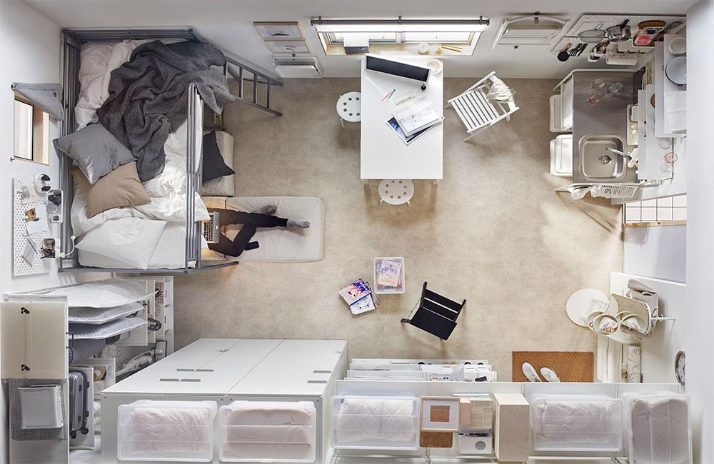 Agrandir une pièce sans casser les murs