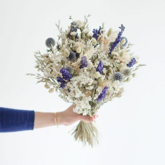 Bouquet de fleurs séchées 'Lautrec', Bergamotte, 45,90€