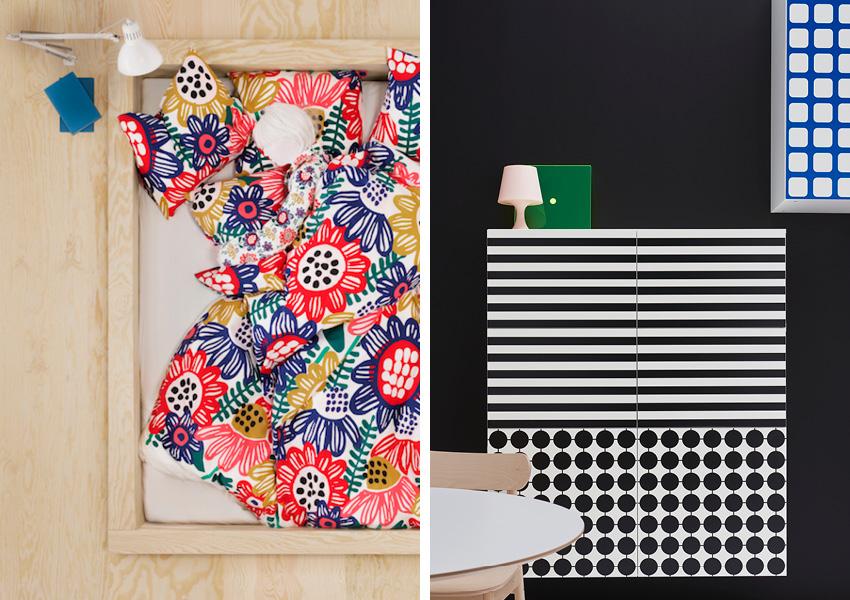 Un Printemps Retro Pop Chez Ikea Deco Idees