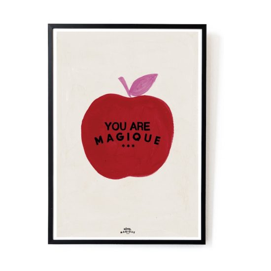 Affiche A3 'You are magique' (29,7 x 42 cm), Hôtel Magique, 39€