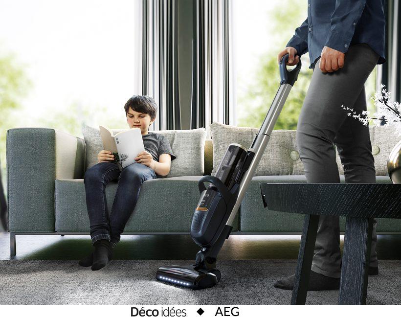 Gagnez un aspirateur AEG FX9 d'une valeur de 599,95€