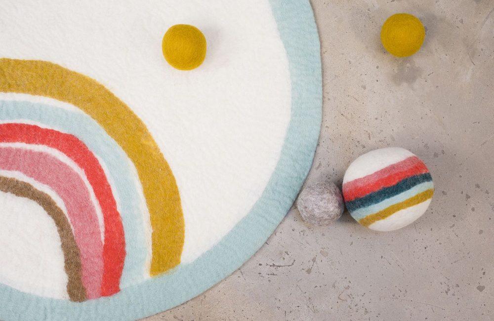 Où trouver un beau tapis pour une chambre d'enfant ?