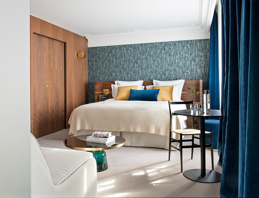 chambres de l'hotel parister