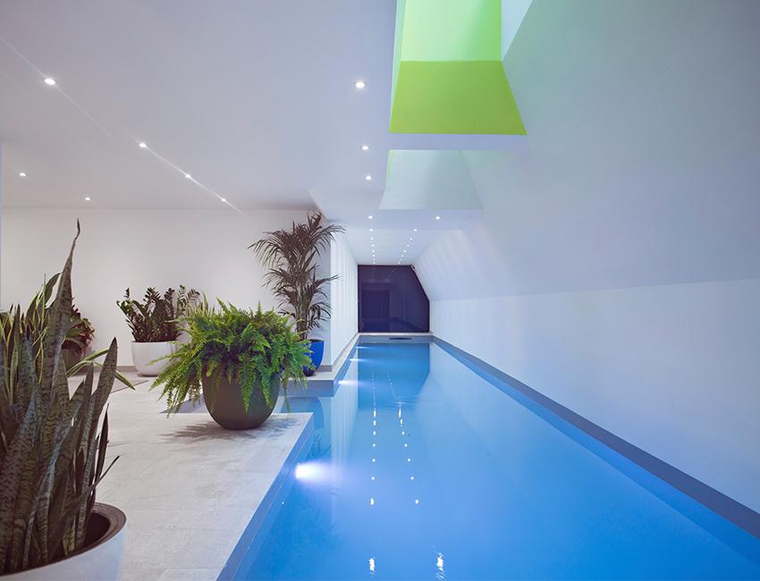 La piscine de l'hôtel Parister