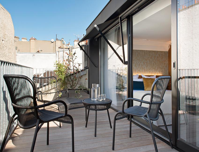 terrasse hotel parister paris