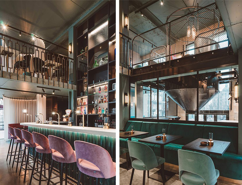 décor restaurant octave