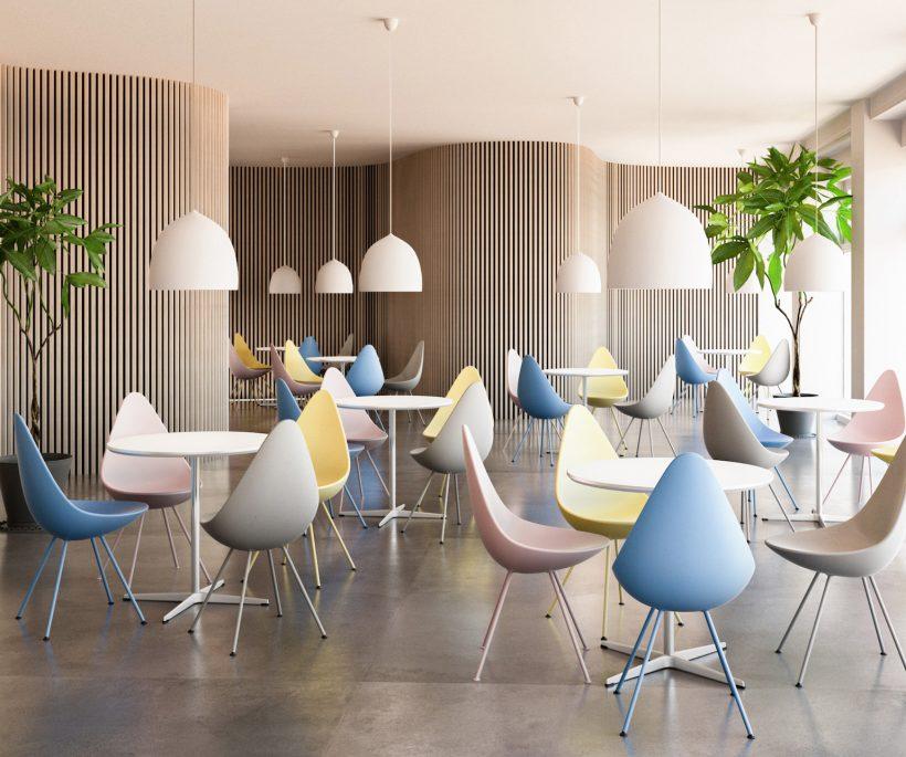 La chaise Drop d'Arne Jacobsen se pare de 4 nouvelles couleurs