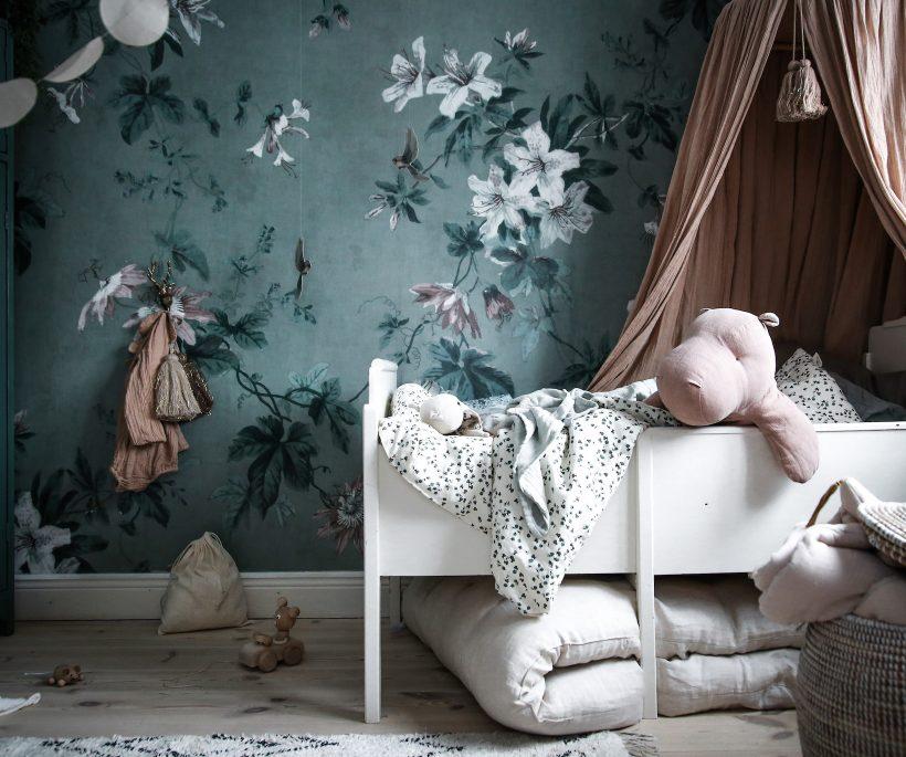 5 bonnes raisons d'adopter le papier peint floral