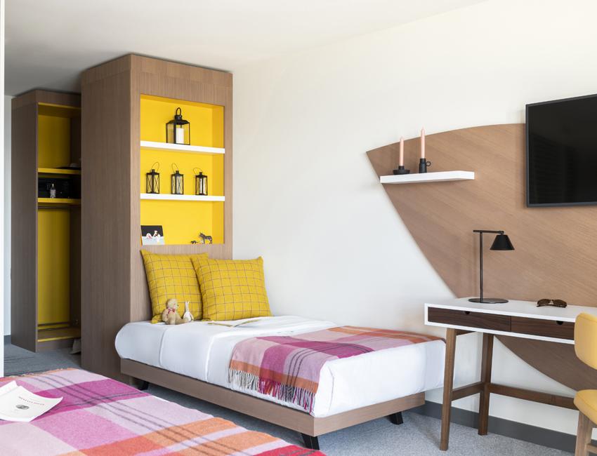 Une chambre familiale du Club Med Les Arcs Panorama