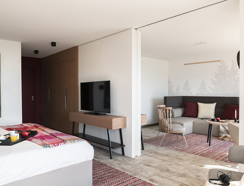 Une suite familiale du Club Med Les Arcs Panorama