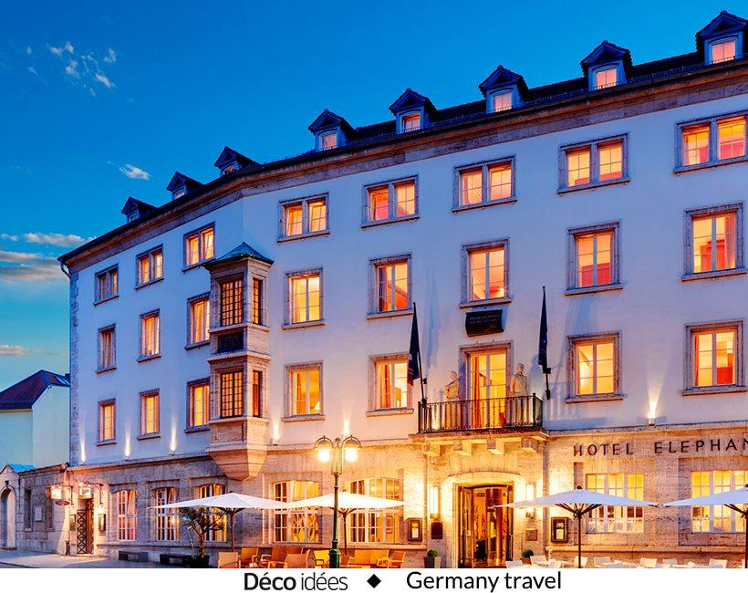 Gagnez un séjour à l'hôtel Elephant à Weimar