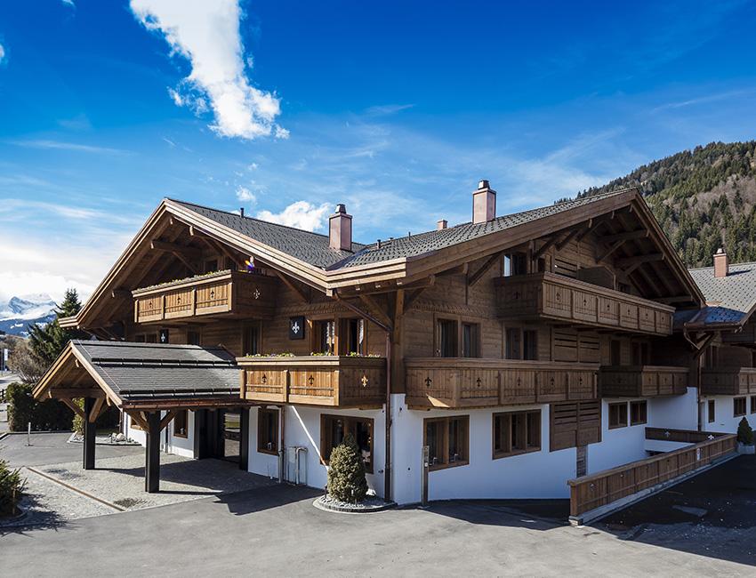 L'entrée de l'Ultima Gstaad