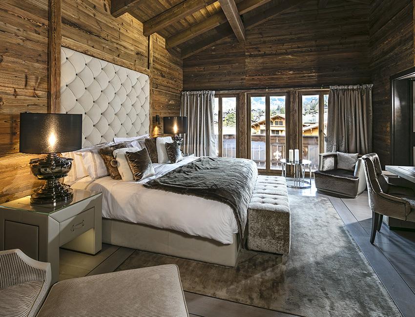 chambres de l'Ultima Gstaad