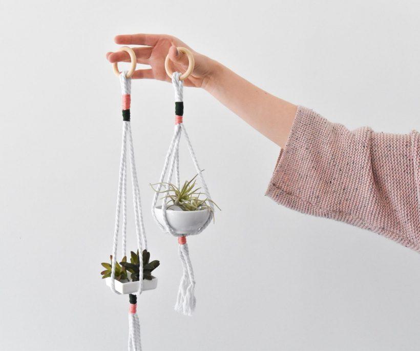 DIY : des suspensions en corde