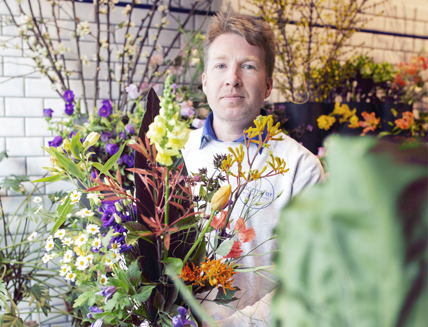 Jonas Van Avermaet chez Blomster