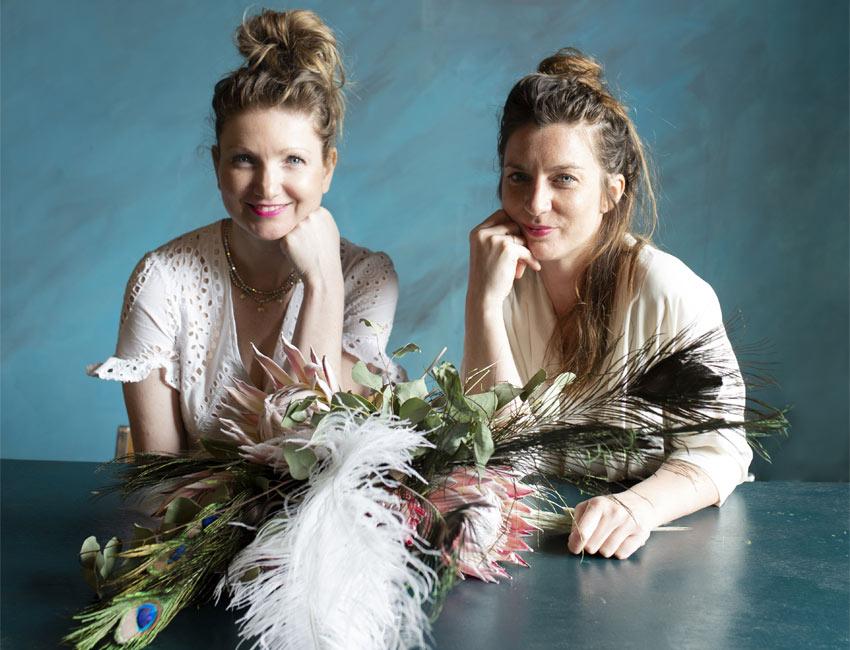 Ine Van Coillie et Nathalie Smolders chez Brood en Bloemen