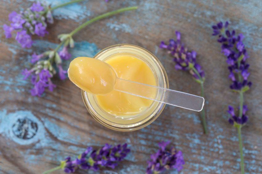 Gelée d'agastache au miel