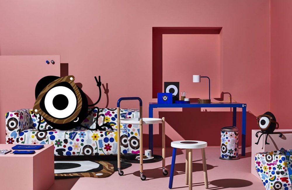 IKEA met à l'honneur la vie estudiantine à travers la collection FÖRNYAD
