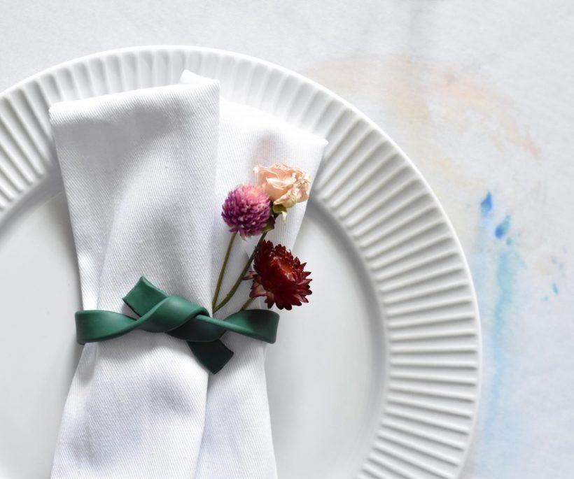 DIY: des noeuds de serviettes estivaux