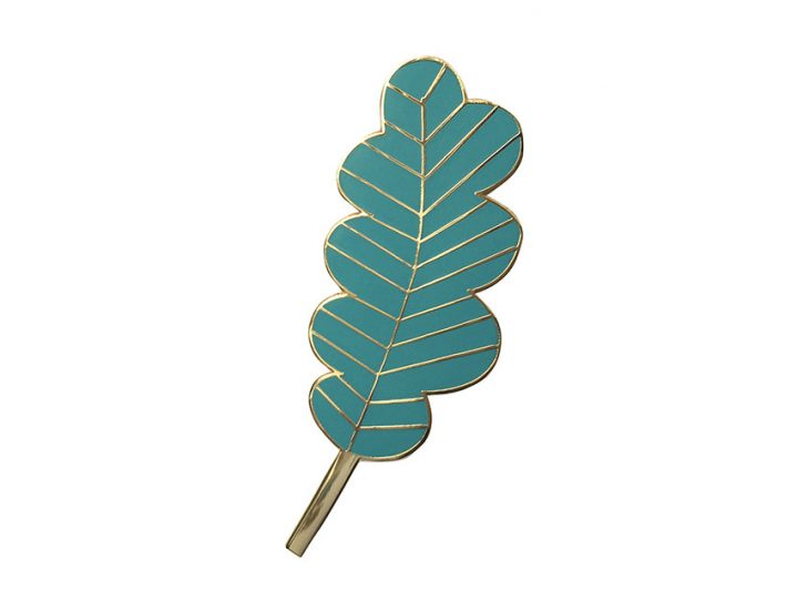 pin's feuille