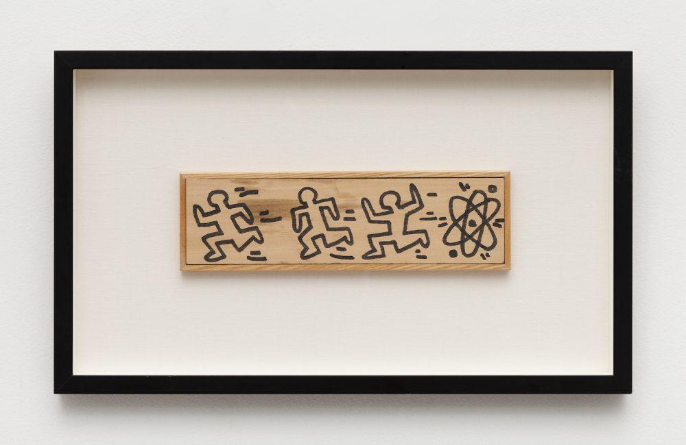 L'artiste américain Keith Haring exposé à la Galerie de la Béraudière