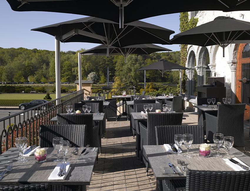 terrasse de Genval Les Bains