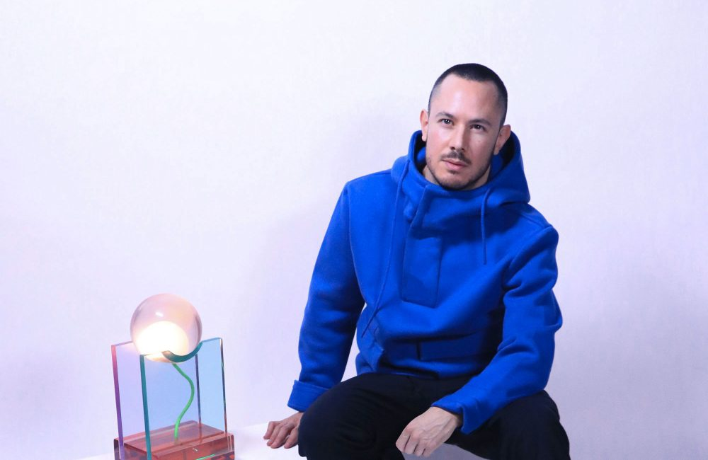 4 questions à Adrian Cruz, jeune designer belge de luminaires