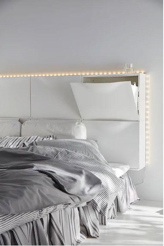 Tête de lit astuce
