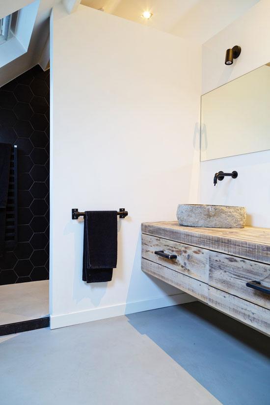 salle de bains matériaux