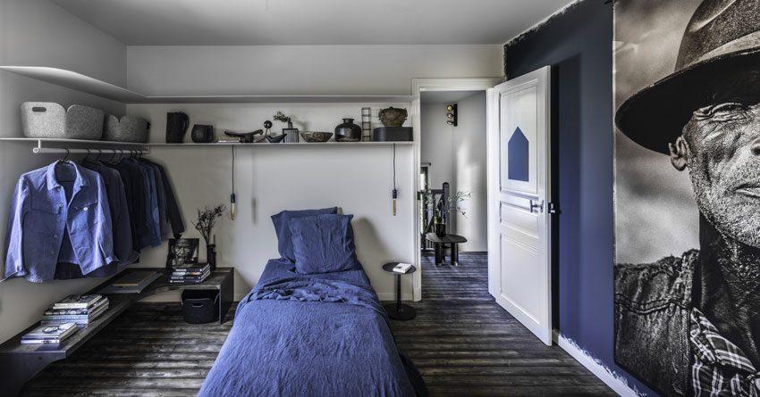 Les chambres après les rénovations dans les Ardennes françaises.