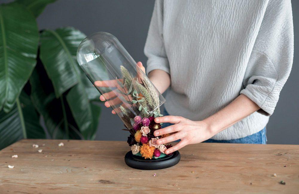 DIY : une cloche fleurie