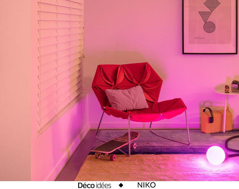 Niko, l'éclairage connecté : pour une vie plus confortable et simplifiée